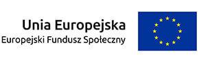 Logo - Unia Europejska Fundusz Spoleczny